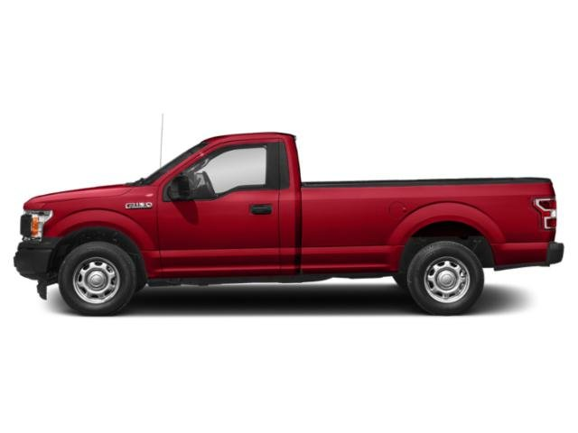 Race Red 2018 Ford F-150 Pictures F-150 XL 4WD Reg Cab 8' Box photos side view