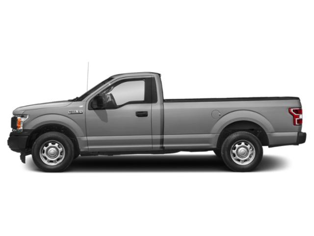 Ingot Silver Metallic 2018 Ford F-150 Pictures F-150 XL 4WD Reg Cab 8' Box photos side view