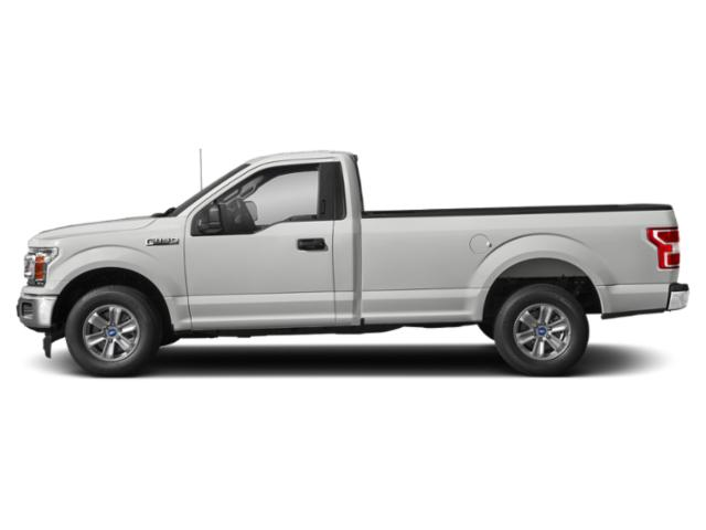 Oxford White 2018 Ford F-150 Pictures F-150 XLT 2WD Reg Cab 8' Box photos side view