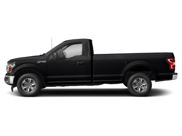 Shadow Black 2018 Ford F-150 Pictures F-150 XLT 2WD Reg Cab 8' Box photos side view
