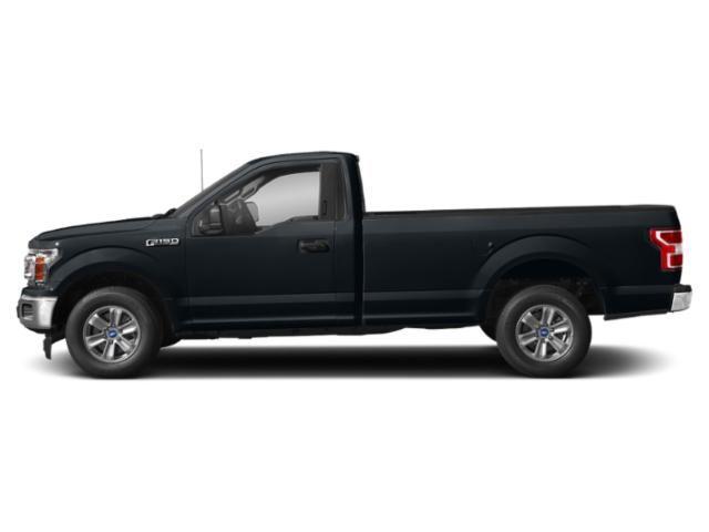 Guard Metallic 2018 Ford F-150 Pictures F-150 XLT 2WD Reg Cab 8' Box photos side view