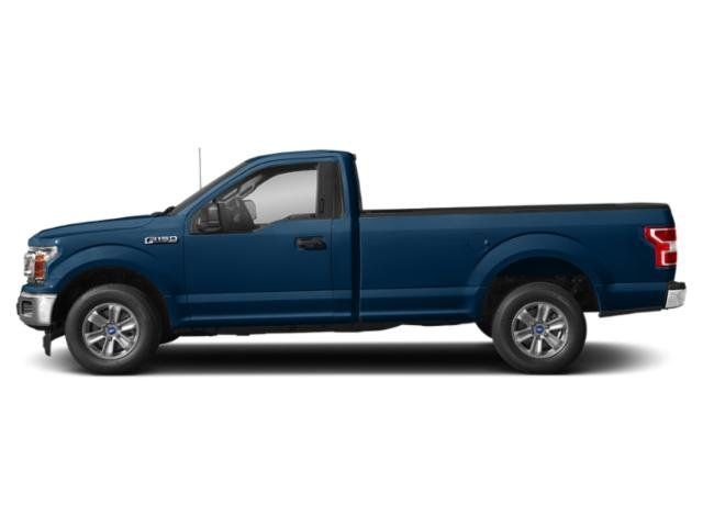Lightning Blue 2018 Ford F-150 Pictures F-150 XLT 2WD Reg Cab 8' Box photos side view