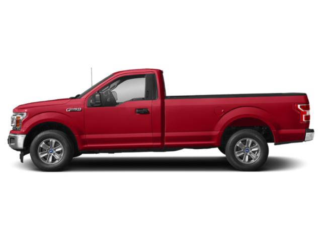 Race Red 2018 Ford F-150 Pictures F-150 XLT 2WD Reg Cab 8' Box photos side view