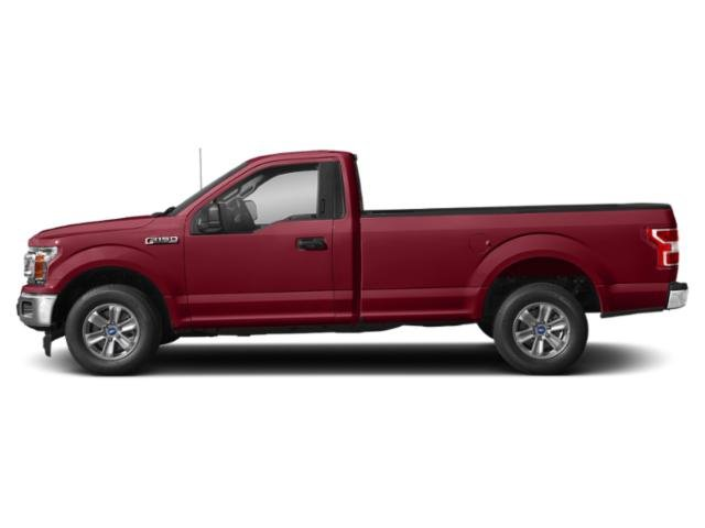 Ruby Red Metallic Tinted Clearcoat 2018 Ford F-150 Pictures F-150 XLT 2WD Reg Cab 8' Box photos side view