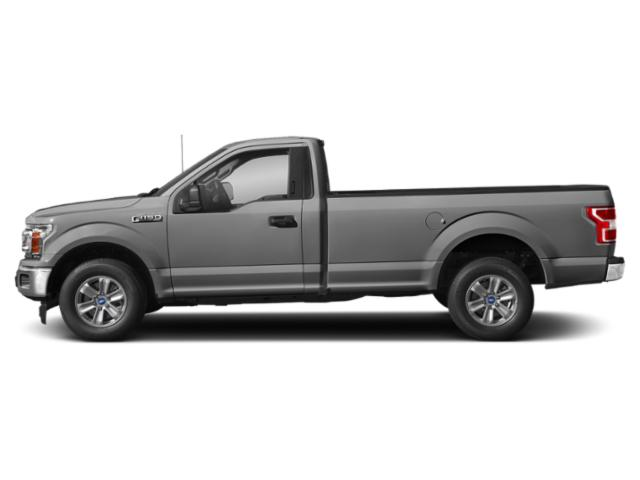 Ingot Silver Metallic 2018 Ford F-150 Pictures F-150 XLT 2WD Reg Cab 8' Box photos side view