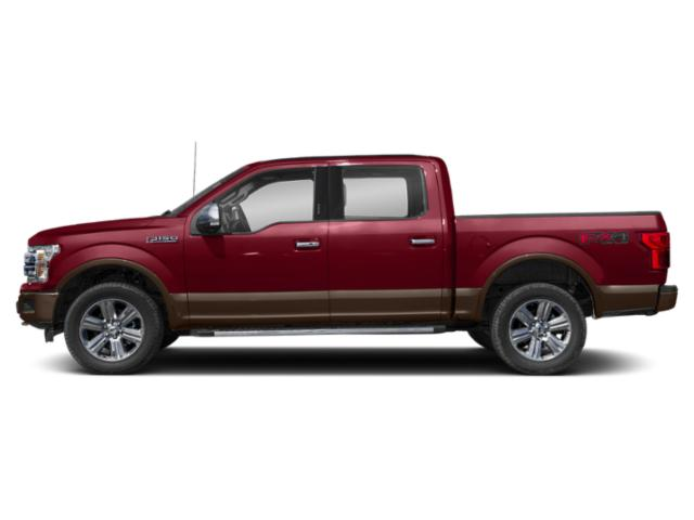 Ruby Red Metallic Tinted Clearcoat 2018 Ford F-150 Pictures F-150 LARIAT 4WD SuperCrew 6.5' Box photos side view