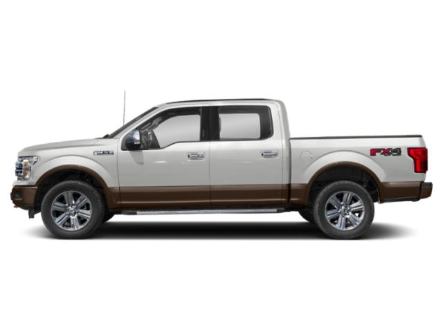 Oxford White 2018 Ford F-150 Pictures F-150 LARIAT 4WD SuperCrew 6.5' Box photos side view