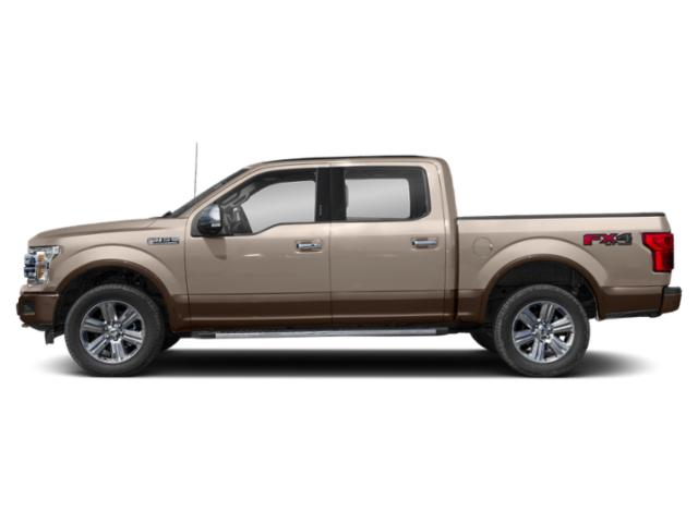 White Gold 2018 Ford F-150 Pictures F-150 LARIAT 4WD SuperCrew 6.5' Box photos side view