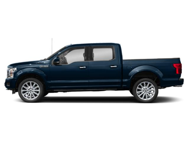 Blue Jeans Metallic 2018 Ford F-150 Pictures F-150 Limited 4WD SuperCrew 5.5' Box photos side view