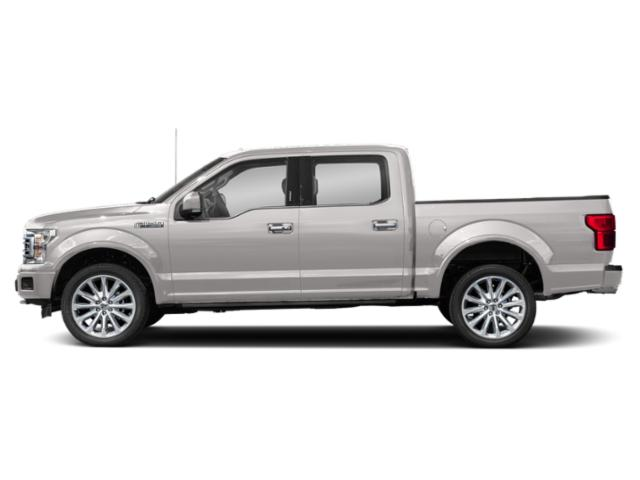 White Platinum Metallic Tri-Coat 2018 Ford F-150 Pictures F-150 Limited 4WD SuperCrew 5.5' Box photos side view
