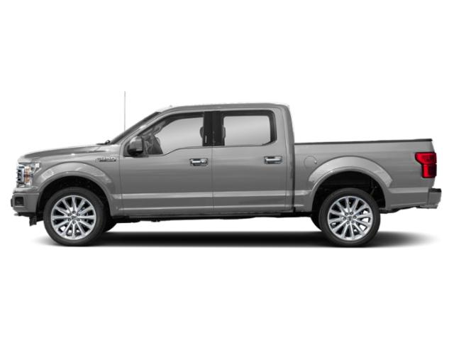 Ingot Silver Metallic 2018 Ford F-150 Pictures F-150 Limited 4WD SuperCrew 5.5' Box photos side view