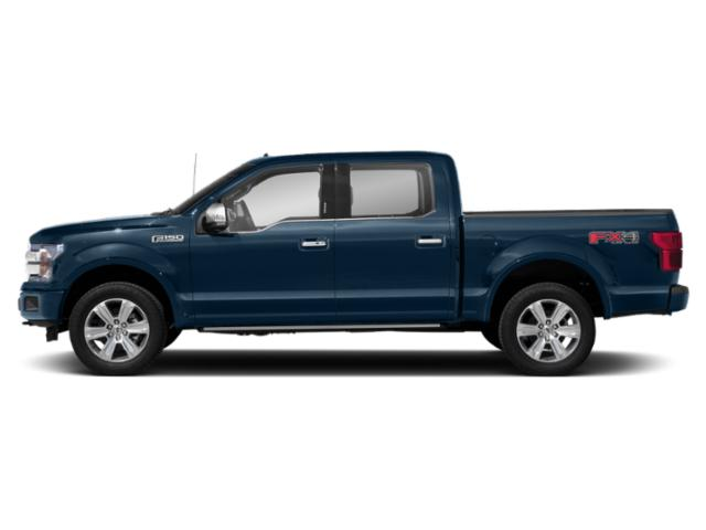 Blue Jeans Metallic 2018 Ford F-150 Pictures F-150 Platinum 2WD SuperCrew 6.5' Box photos side view