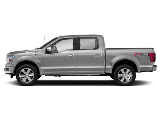 Ingot Silver Metallic 2018 Ford F-150 Pictures F-150 Platinum 2WD SuperCrew 6.5' Box photos side view