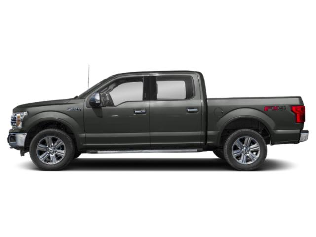 Magnetic Metallic 2018 Ford F-150 Pictures F-150 LARIAT 4WD SuperCrew 6.5' Box photos side view