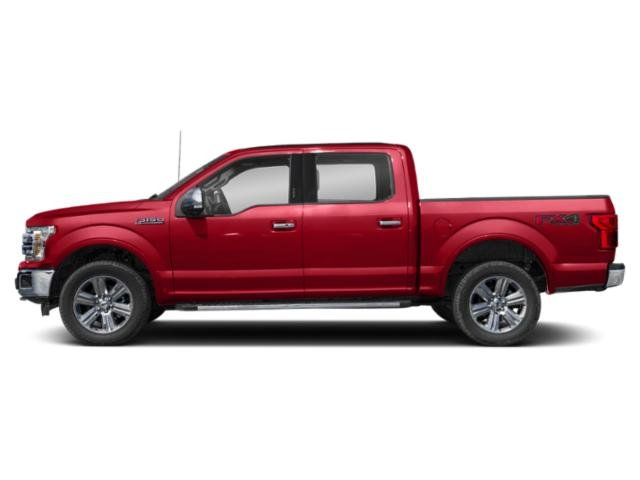 Race Red 2018 Ford F-150 Pictures F-150 LARIAT 4WD SuperCrew 6.5' Box photos side view