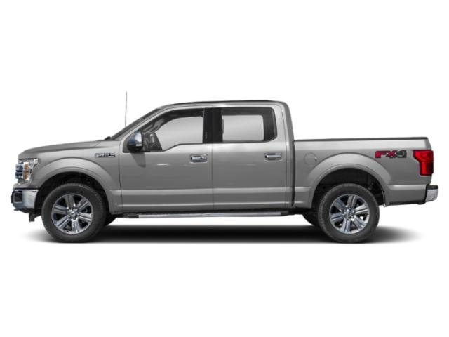 Ingot Silver Metallic 2018 Ford F-150 Pictures F-150 LARIAT 4WD SuperCrew 6.5' Box photos side view