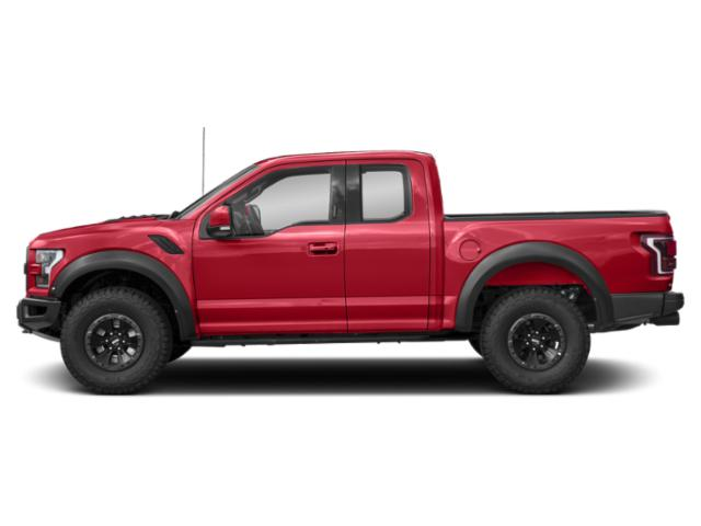 Race Red 2018 Ford F-150 Pictures F-150 SuperCab Raptor 4WD photos side view