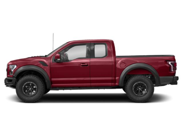Ruby Red Metallic Tinted Clearcoat 2018 Ford F-150 Pictures F-150 SuperCab Raptor 4WD photos side view
