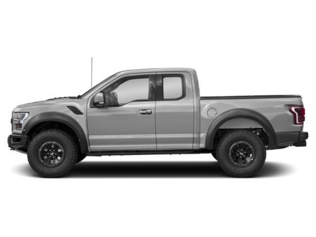 Ingot Silver Metallic 2018 Ford F-150 Pictures F-150 SuperCab Raptor 4WD photos side view