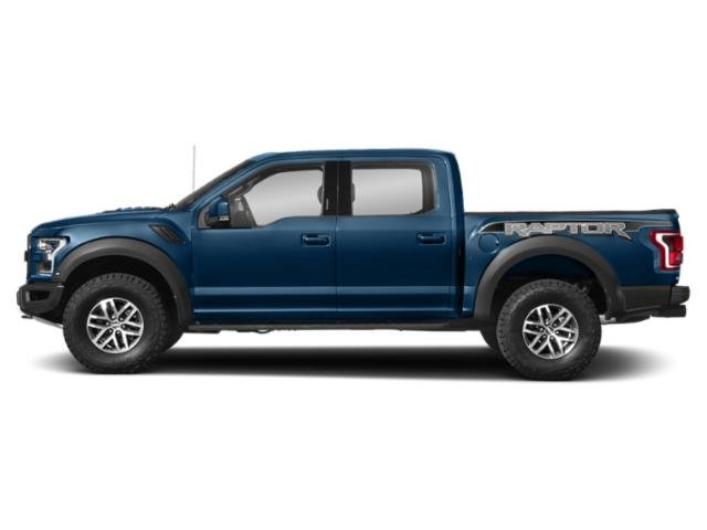 Lightning Blue 2018 Ford F-150 Pictures F-150 Raptor 4WD SuperCrew 5.5' Box photos side view