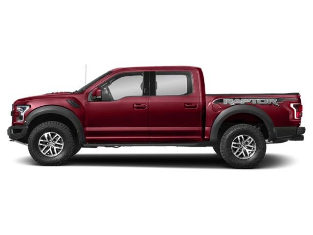 Ruby Red Metallic Tinted Clearcoat 2018 Ford F-150 Pictures F-150 Raptor 4WD SuperCrew 5.5' Box photos side view
