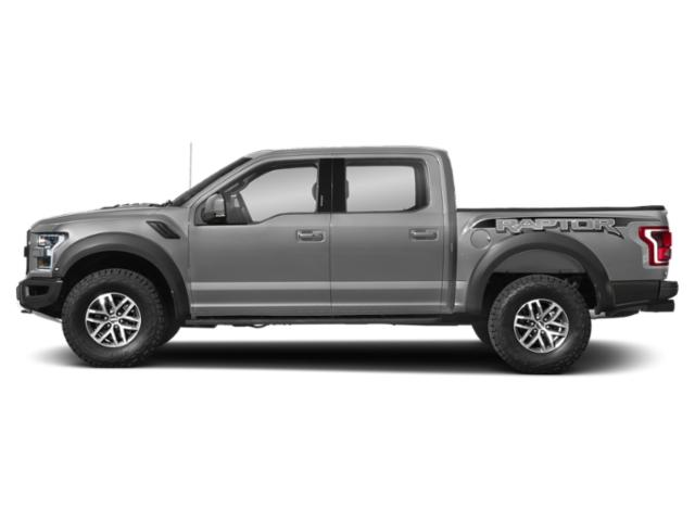 Ingot Silver Metallic 2018 Ford F-150 Pictures F-150 Raptor 4WD SuperCrew 5.5' Box photos side view