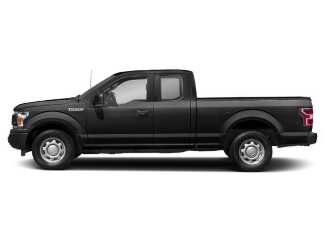 Shadow Black 2018 Ford F-150 Pictures F-150 LARIAT 4WD SuperCab 8' Box photos side view