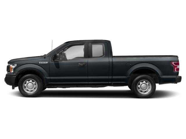 Guard Metallic 2018 Ford F-150 Pictures F-150 LARIAT 4WD SuperCab 8' Box photos side view
