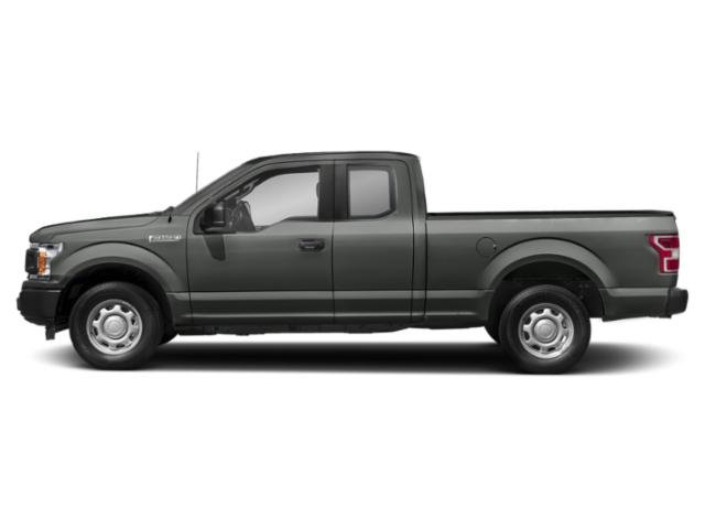 Magnetic Metallic 2018 Ford F-150 Pictures F-150 LARIAT 4WD SuperCab 8' Box photos side view
