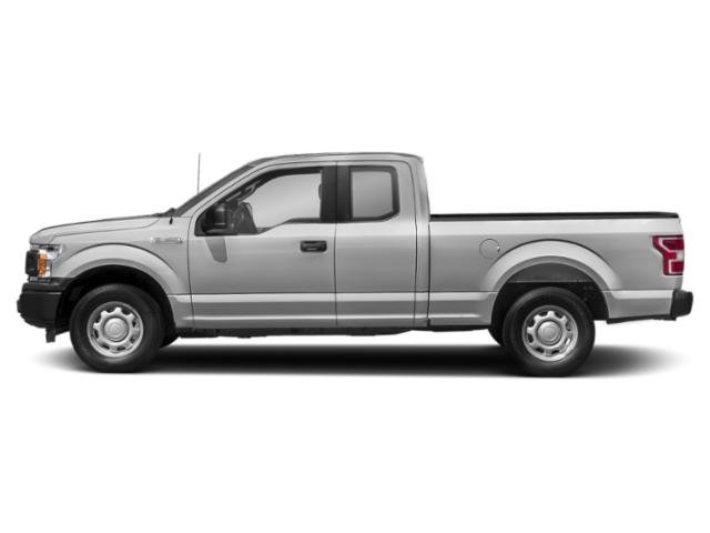 Ingot Silver Metallic 2018 Ford F-150 Pictures F-150 LARIAT 4WD SuperCab 8' Box photos side view