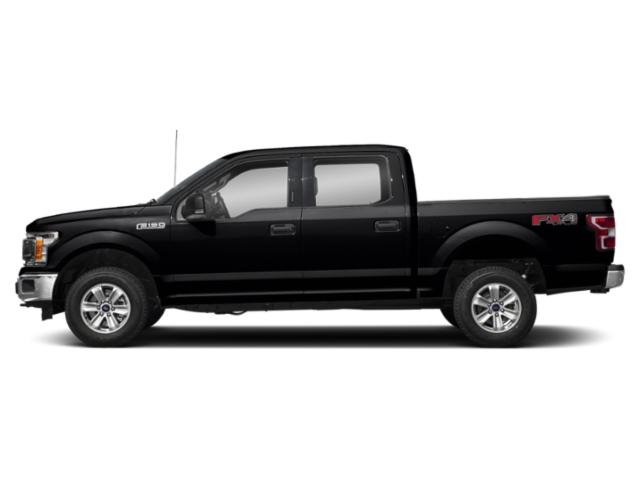 Shadow Black 2018 Ford F-150 Pictures F-150 XLT 2WD SuperCrew 6.5' Box photos side view