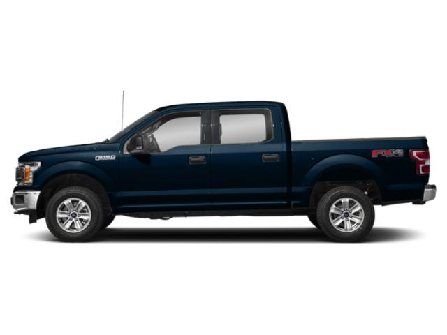 Blue Jeans Metallic 2018 Ford F-150 Pictures F-150 XLT 2WD SuperCrew 6.5' Box photos side view