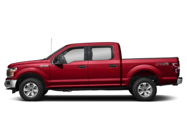 Race Red 2018 Ford F-150 Pictures F-150 XLT 2WD SuperCrew 6.5' Box photos side view