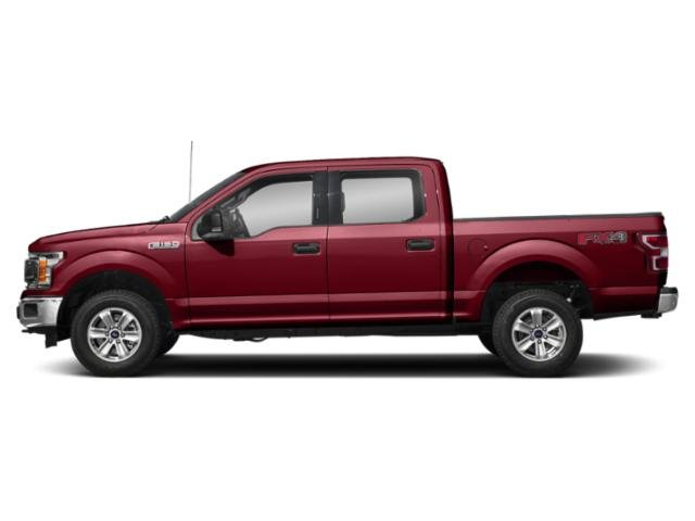 Ruby Red Metallic Tinted Clearcoat 2018 Ford F-150 Pictures F-150 XLT 4WD SuperCrew 5.5' Box photos side view