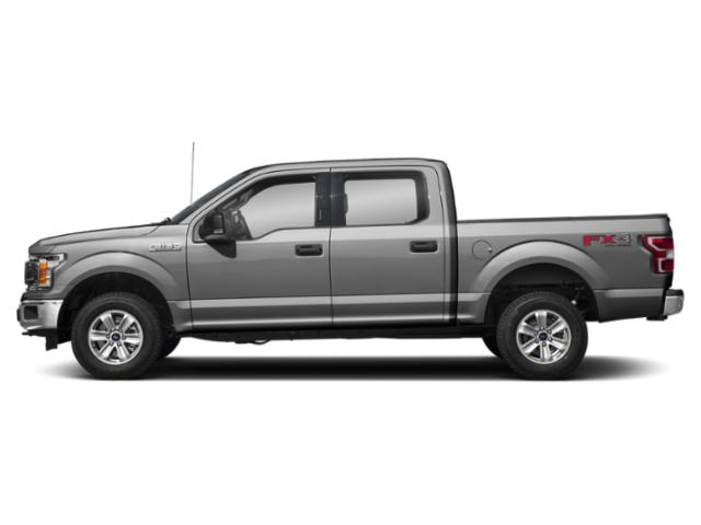 Ingot Silver Metallic 2018 Ford F-150 Pictures F-150 XLT 2WD SuperCrew 6.5' Box photos side view
