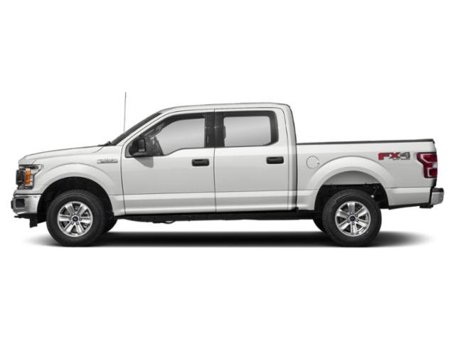 Oxford White 2018 Ford F-150 Pictures F-150 Crew Cab XLT 4WD photos side view