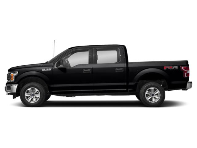 Shadow Black 2018 Ford F-150 Pictures F-150 Crew Cab XLT 4WD photos side view