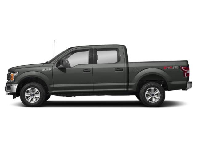 Magnetic Metallic 2018 Ford F-150 Pictures F-150 Crew Cab XLT 4WD photos side view