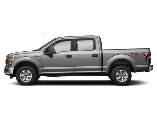 Ingot Silver Metallic 2018 Ford F-150 Pictures F-150 Crew Cab XLT 4WD photos side view