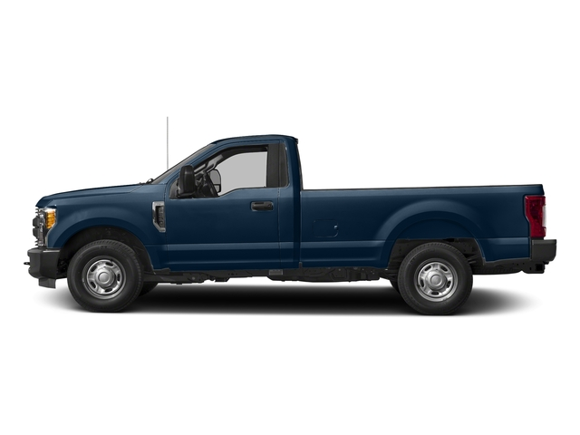 Blue Jeans Metallic 2018 Ford Super Duty F-250 SRW Pictures Super Duty F-250 SRW XL 2WD Reg Cab 8' Box photos side view