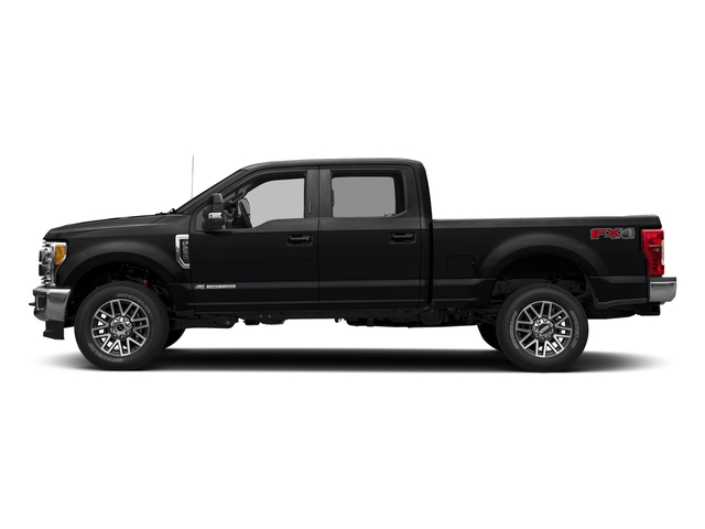 Shadow Black 2018 Ford Super Duty F-350 SRW Pictures Super Duty F-350 SRW LARIAT 4WD Crew Cab 8' Box photos side view