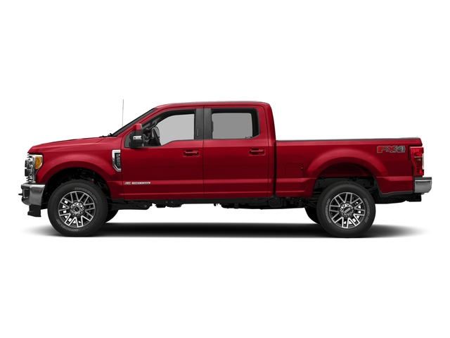 Race Red 2018 Ford Super Duty F-350 SRW Pictures Super Duty F-350 SRW LARIAT 4WD Crew Cab 8' Box photos side view
