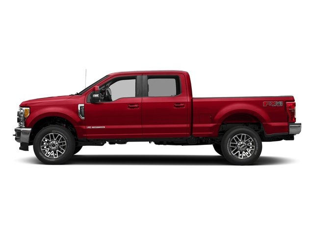 Race Red 2018 Ford Super Duty F-250 SRW Pictures Super Duty F-250 SRW LARIAT 2WD Crew Cab 6.75' Box photos side view