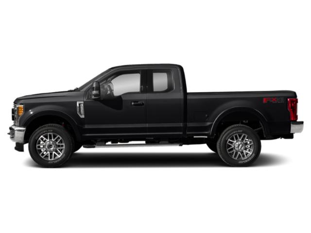 Shadow Black 2018 Ford Super Duty F-250 SRW Pictures Super Duty F-250 SRW Supercab Lariat 2WD photos side view