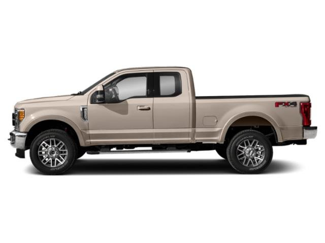 White Gold Metallic 2018 Ford Super Duty F-250 SRW Pictures Super Duty F-250 SRW Supercab Lariat 2WD photos side view