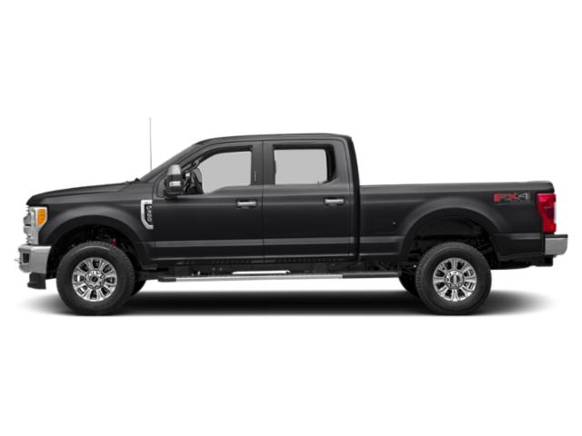 Shadow Black 2018 Ford Super Duty F-250 SRW Pictures Super Duty F-250 SRW XLT 4WD Crew Cab 8' Box photos side view