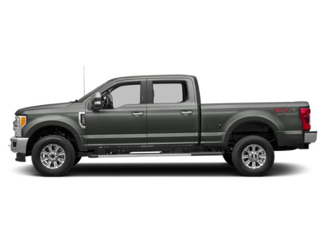 Magnetic Metallic 2018 Ford Super Duty F-250 SRW Pictures Super Duty F-250 SRW XLT 4WD Crew Cab 8' Box photos side view