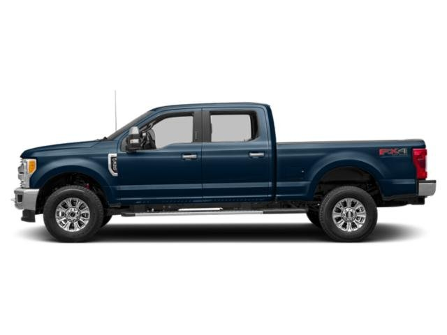 Blue Jeans Metallic 2018 Ford Super Duty F-250 SRW Pictures Super Duty F-250 SRW XLT 4WD Crew Cab 8' Box photos side view