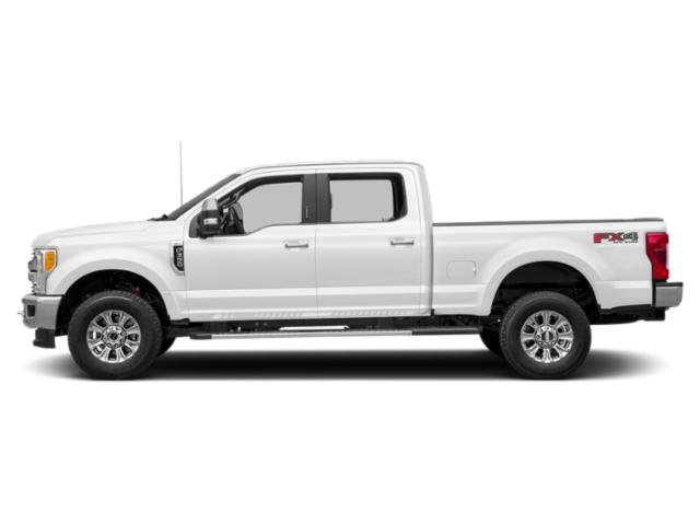 Oxford White 2018 Ford Super Duty F-250 SRW Pictures Super Duty F-250 SRW XLT 4WD Crew Cab 8' Box photos side view