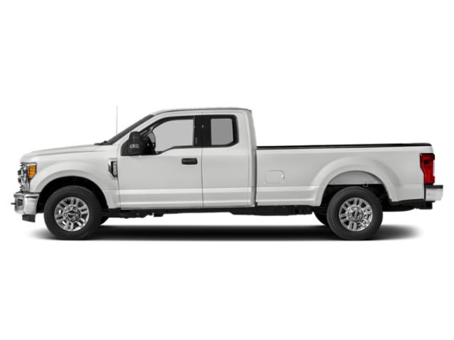 Oxford White 2018 Ford Super Duty F-250 SRW Pictures Super Duty F-250 SRW XLT 4WD SuperCab 8' Box photos side view